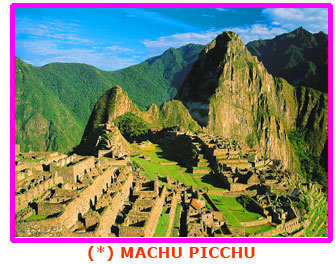 View of Machu Picchu marvel