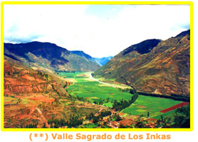 Sacred Valley of teh INkas